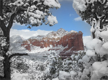 canyon snow image